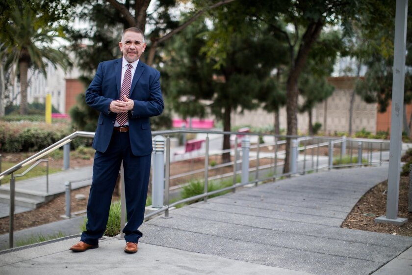 Veteran prosecutor aims to become L A  County's first Latino