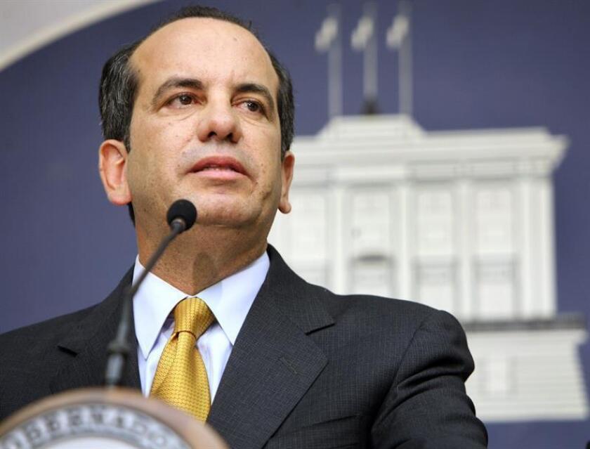 Fotografía de archivo del exgobernador puertorriqueño, Aníbal Acevedo Vilá. EFE/ SOLO USO EDITORIAL - NO VENTAS