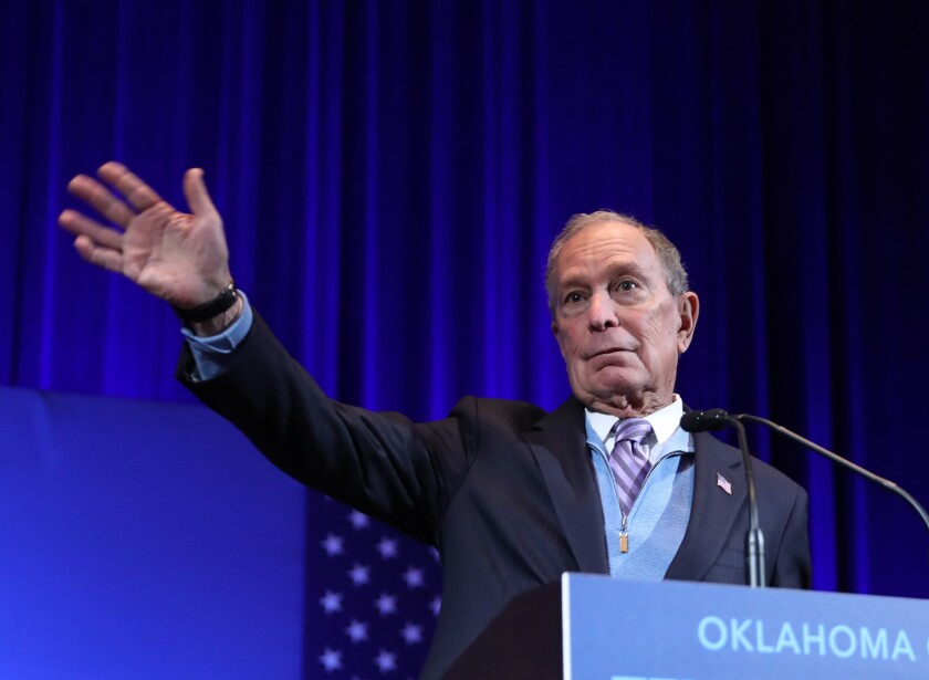 Bloomberg says he might not spend to help Sanders if he's nominee