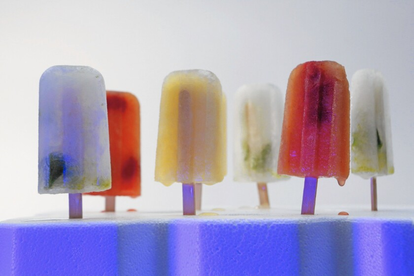 Cocktail popsicles