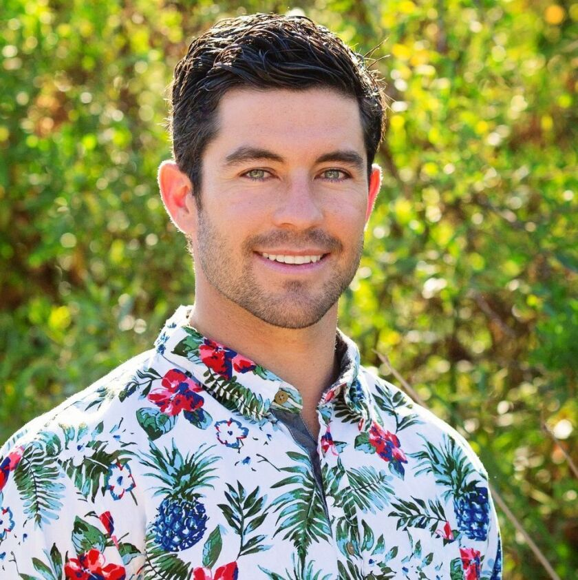 "La Jolla resident Spencer Robertson is a suitor on ABC's ""The Bachelorette."""
