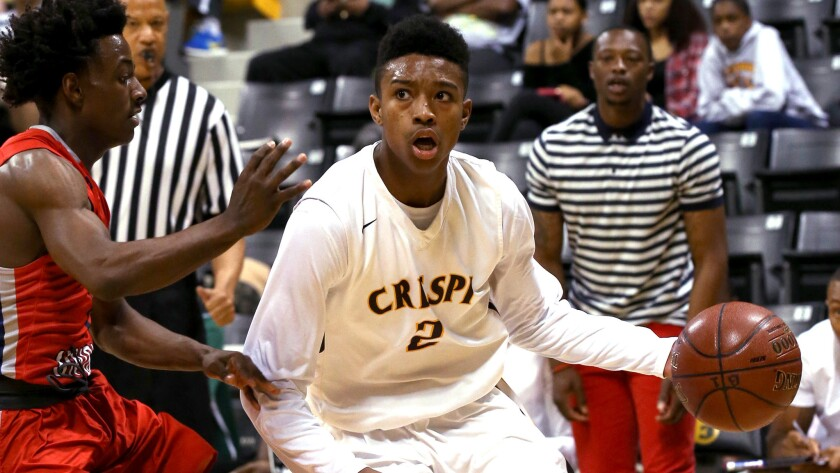 Encino Crespi guard Brandon Williams is a two-time state champion.