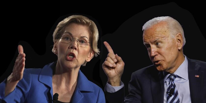The debate Democrats have waited for: Joe Biden vs. Elizabeth Warren