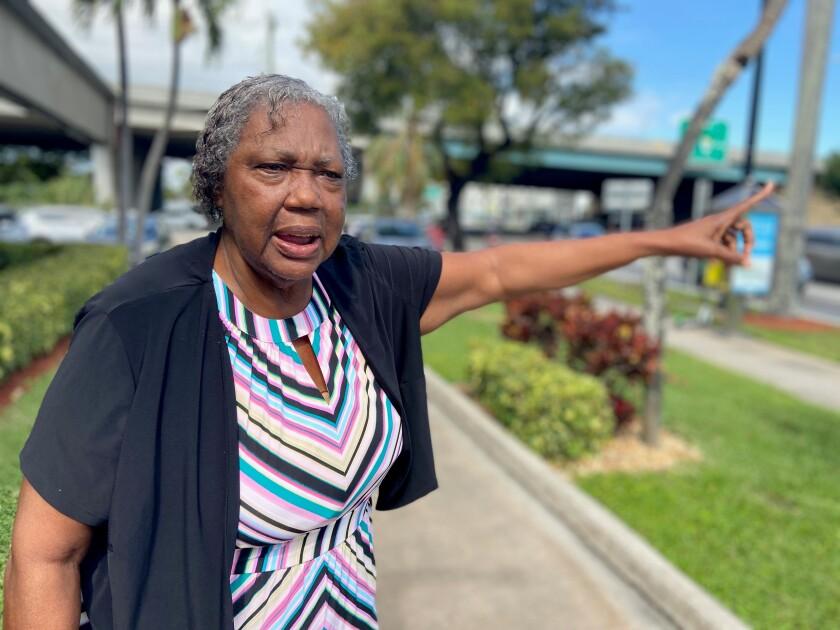 Edith Morgan, mother of former Chiefs star Derrick Thomas, still lives in Miami.