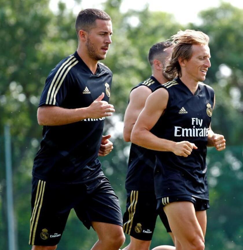 El Real Madrid arranca con paliza física