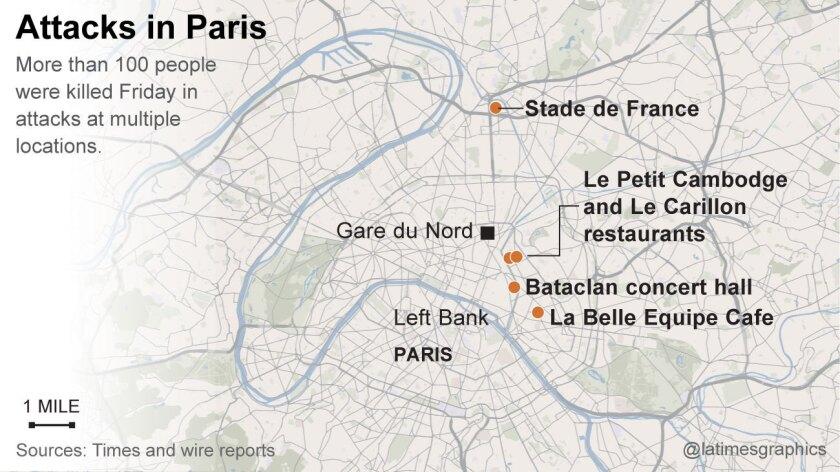 Violence in Paris