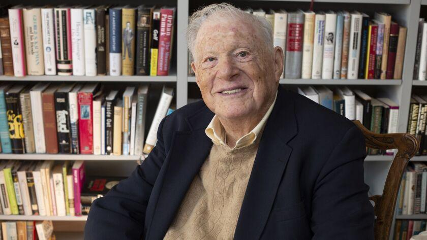 Robert Bernstein in a 2015 photo released by Peter Bernstein.