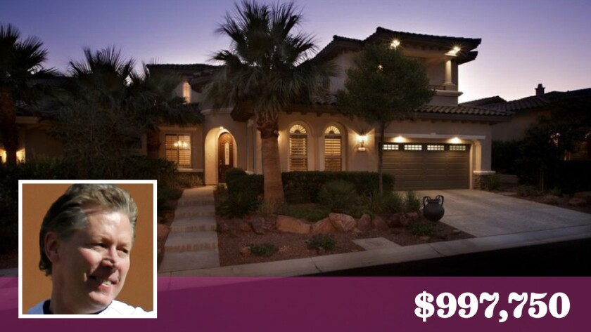 Former Los Angeles Dodgers pitcher Orel Hershiser has listed his home in Las Vegas for sale at about $1 million.