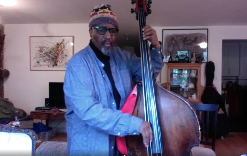 "N.Y. bass player William Parker helped organize the ""Deep Tones for Change"" election day concert series."