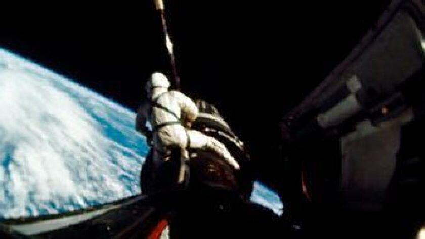 In this September 1966 photo provided by NASA, astronaut Richard F. Gordon Jr., pilot for the Gemini