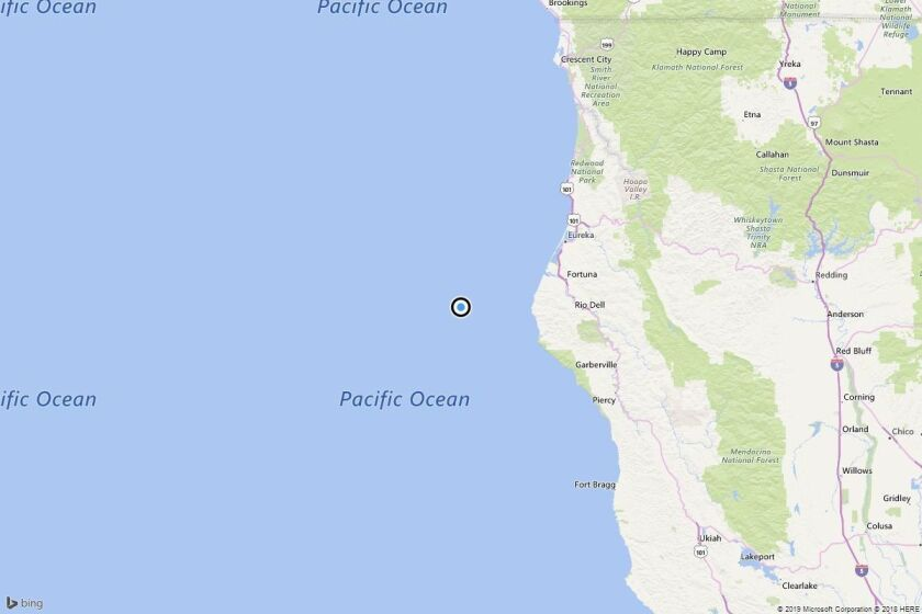 Earthquake: 3.2 quake strikes near Capetown, Calif.