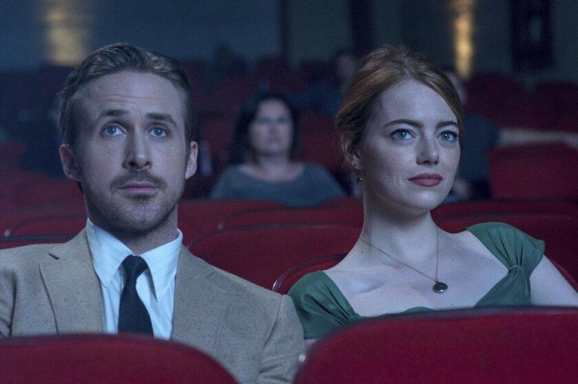 "Ryan Gosling and Emma Stone in ""La La Land"""