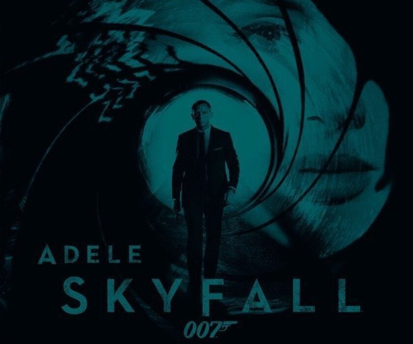 "James Bond, meet Adele, Adele Adkins. Above is the cover art for Adele's ""Skyfall."""