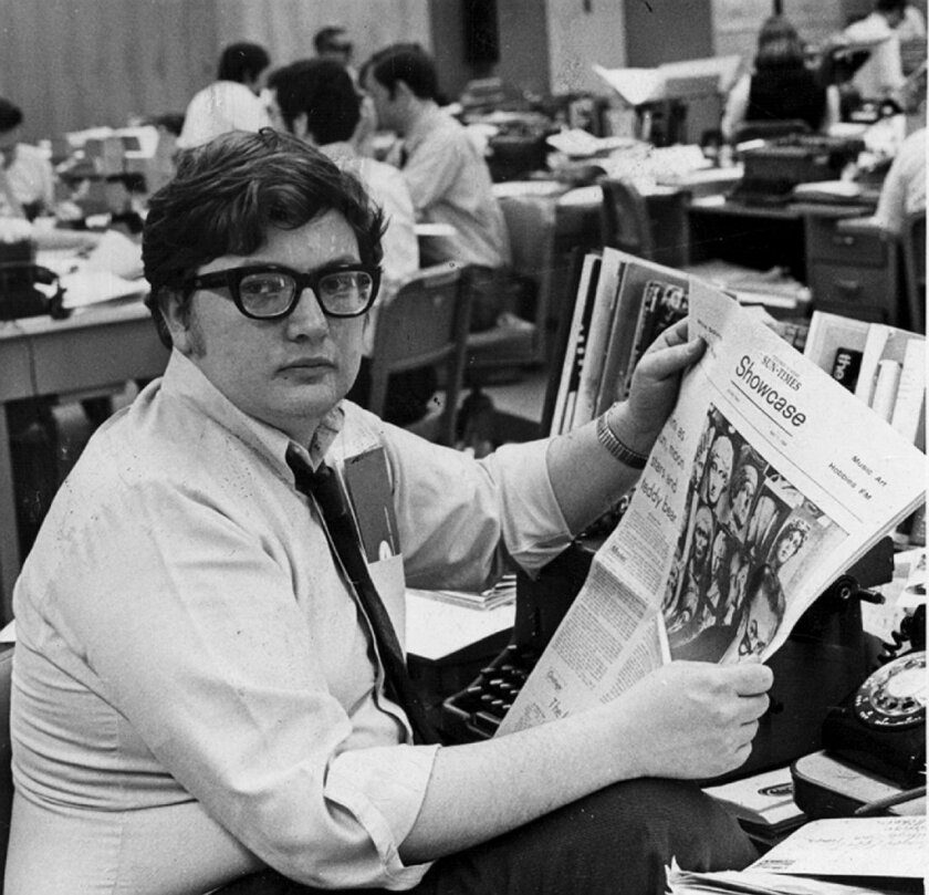 The documentary will be based on the life of film critic Roger Ebert, who died earlier this year.
