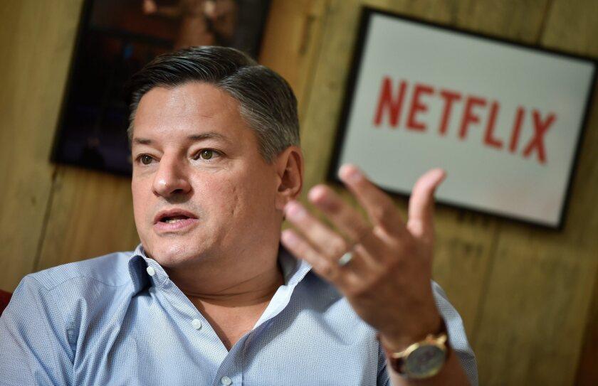 Netflix Chief Content Officer Ted Sarandos.