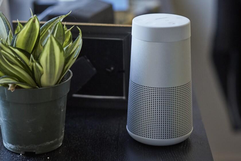 Bose SoundLink Revolve Bluetooth speaker, $159 by Bose at Bose.com.