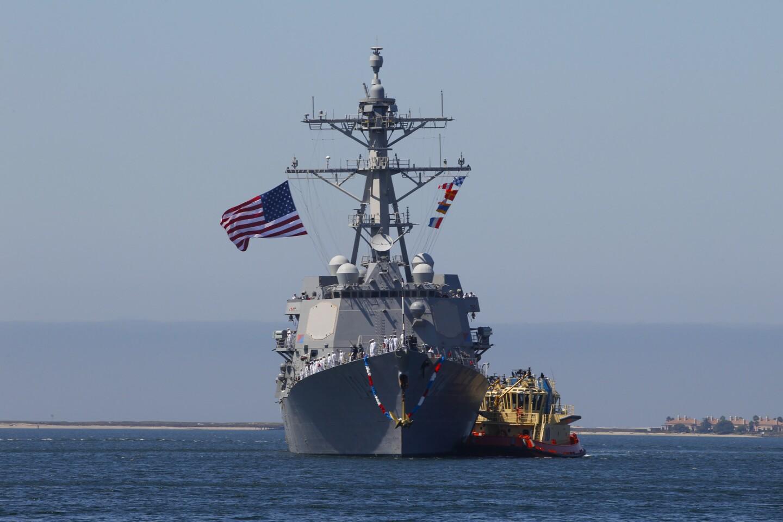 USS Sterett returns to San Diego