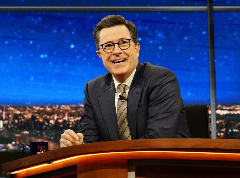 "DirecTV subscribers lost access to CBS shows, such as ""The Late Show With Stephen Colbert,"" as part of the blackout."