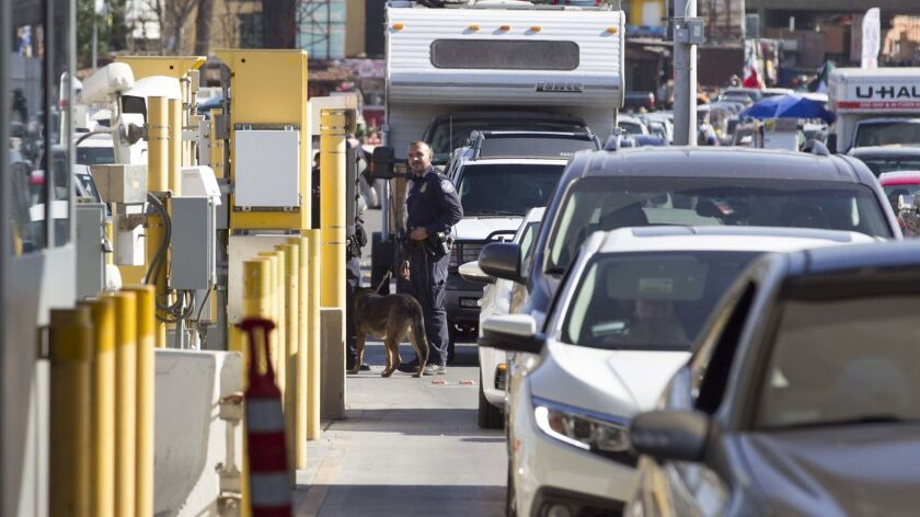 Some northbound lanes at the San Ysidro and Otay Mesa ports of entry will be closed ahead of a migrant caravan.