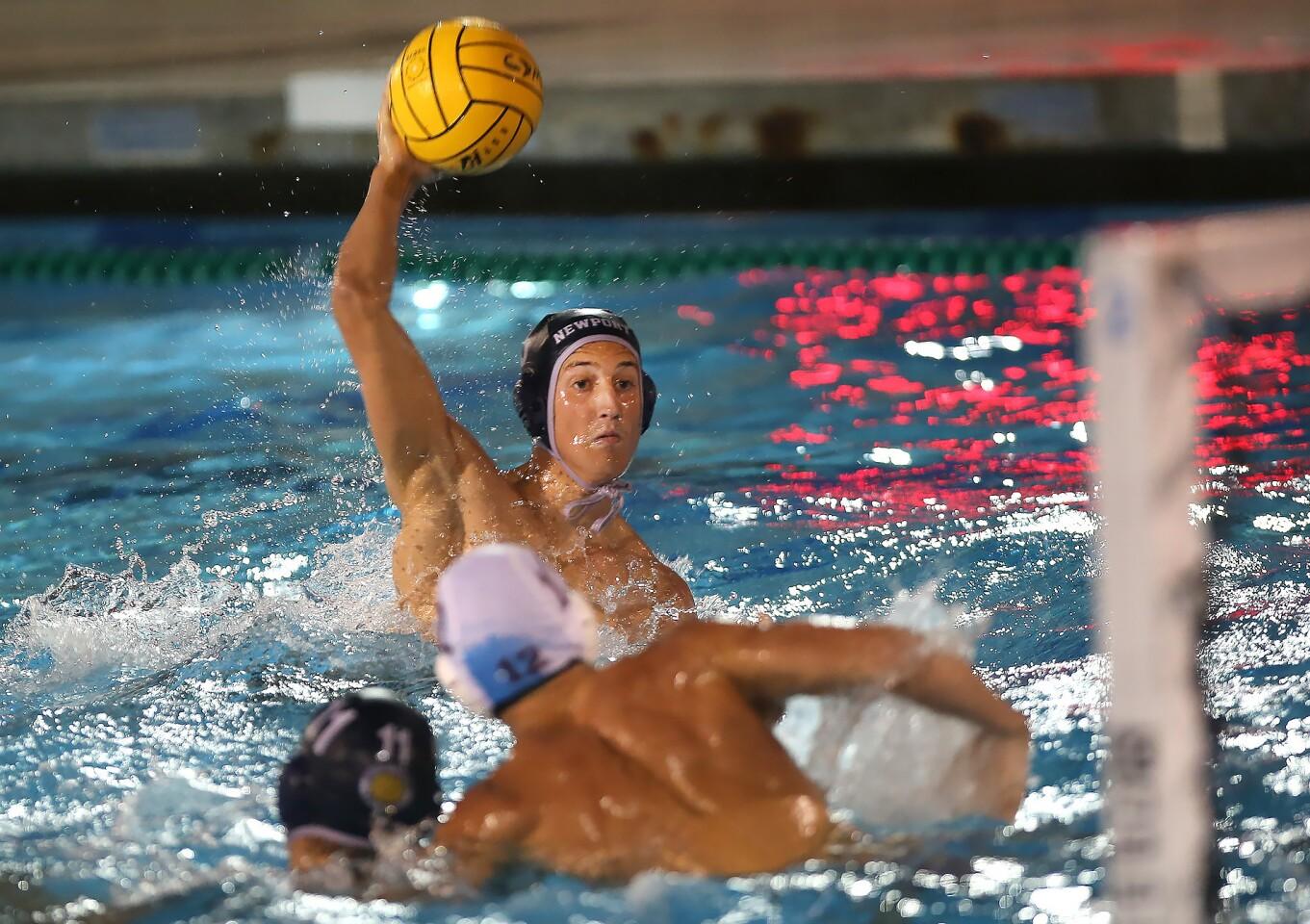 Photo Gallery: Newport Harbor vs. Laguna Beach in boys' water polo