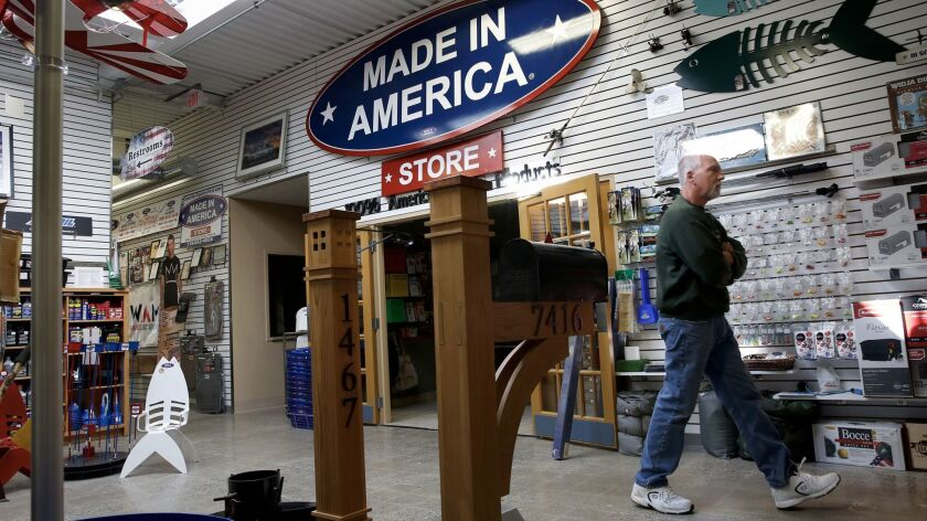 The Made in America Store began with just 50 products but now stocks more than 7,000.
