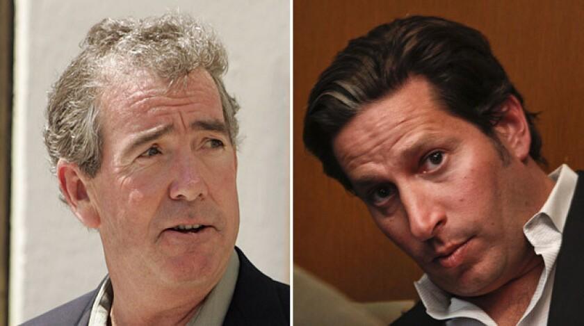 Patrick Lynch, left, in 2009. Todd DeStefano, right, in February 2011.