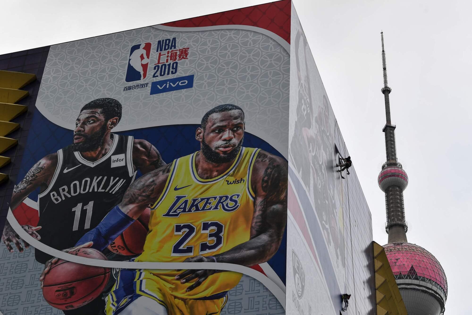 Lakers in Shanghai