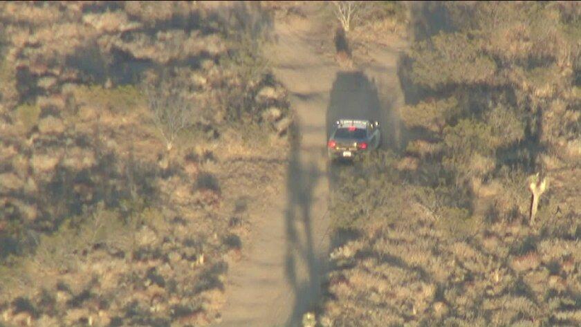 A police chase involving a stolen CHP cruiser.