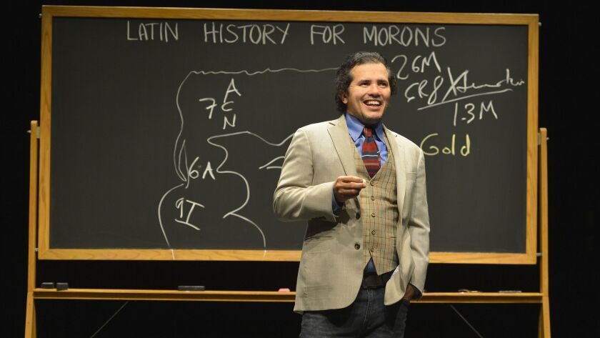 """John Leguizamo's """"Latin History for Morons,"""" which received its first workshop production through La Jolla Playhouse's Page to Stage program in 2016, has earned a Tony Award nomination for best play. Leguizamo also will receive a Special Tony Award."""