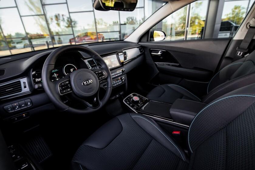 2020 Kia Niro Ev 239 Miles In A Family Electric The San Diego Union Tribune