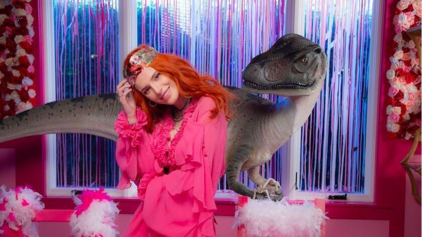 """Actress and musician Bella Thorne is making her directorial debut with the film """"Her & Him."""""""