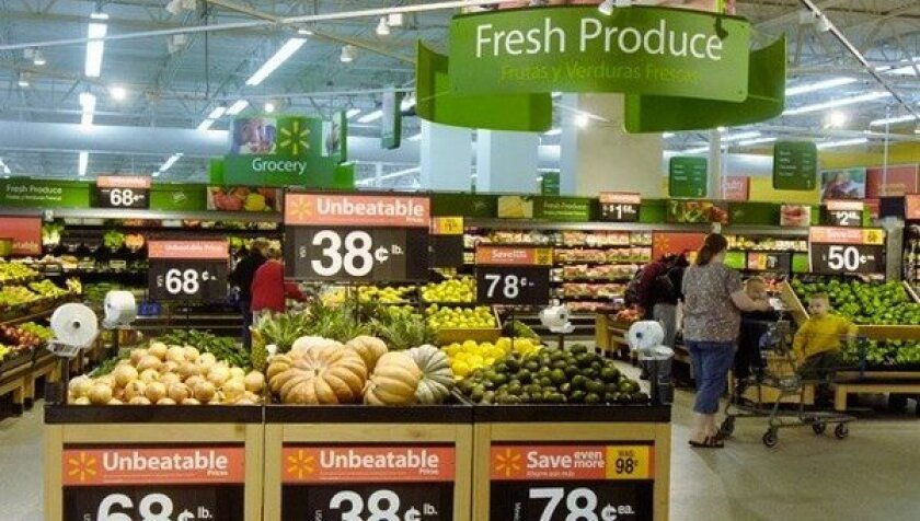 Wal-Mart attempts to freshen produce selection