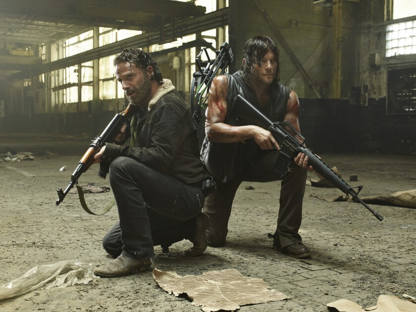 AMC uses 'The Walking Dead' to alert viewers it could go dark on DirecTV
