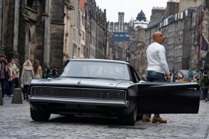 Fotografía cedida por Universal Pictures donde aparece el actor Vin Diesel en el papel de Dominic Toretto.