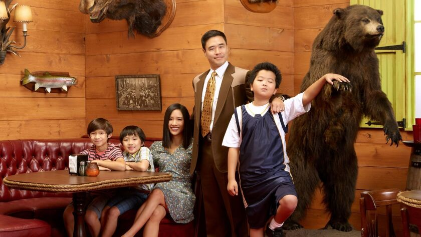 """ABC's """"Fresh Off the Boat,"""" centered around a Taiwanese American family, features minority leads and a majority of minority writers behind the scenes."""