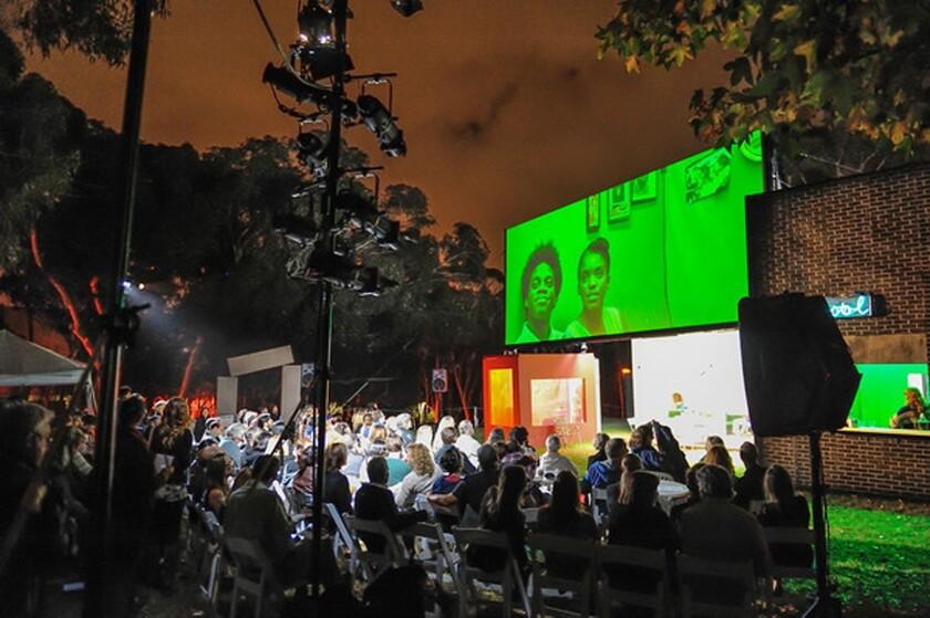"La Jolla Playhouse presents Jay Scheib's multimedia adaptation of Chekhov's ""Platonov"" as part of its Without Walls Festival."