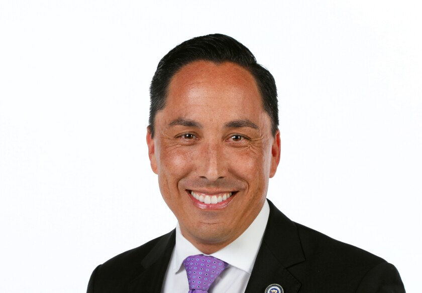 Assembly member Todd Gloria is a candidate for San Diego mayor.