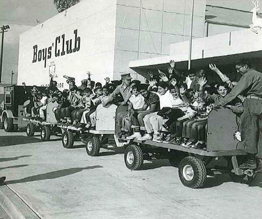 The Oceanside club in the 1950s when it was a boys-only club.