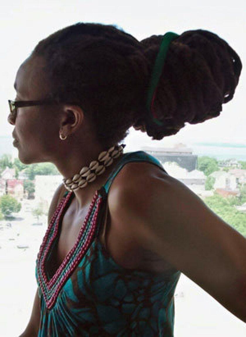"""Nnedi Okorafor, author of """"Akata Witch."""""""