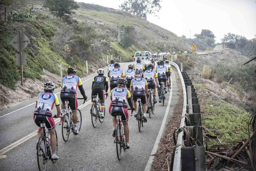 Injured veterans biked more than 500 miles on the Ride 2 Recovery from the San Francisco Bay area to Los Angeles Oct. 18-24.