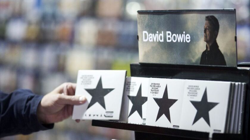 "David Bowie knew he was dying of cancer when he made ""Blackstar,"" an edgy, shape-shifting album that explores issues of mortality with haunting results."
