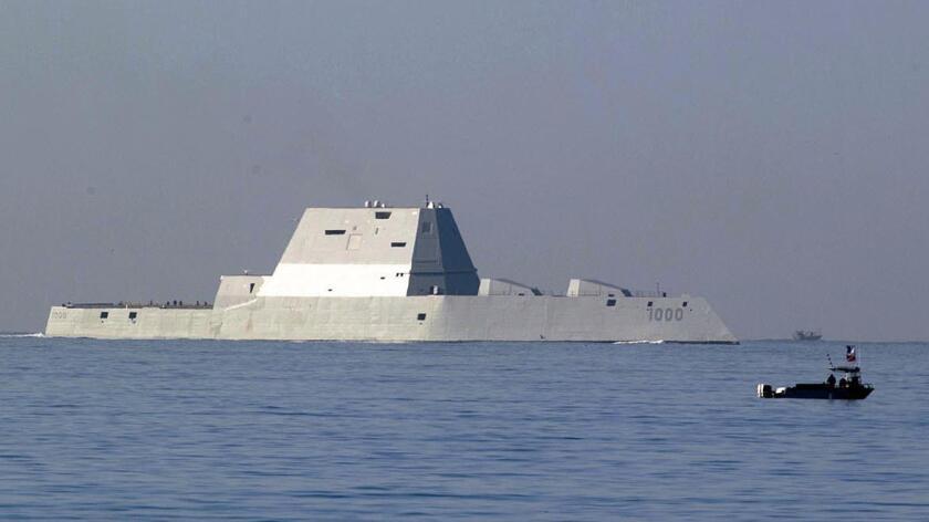 The USS Zumwalt (John Gibbins)