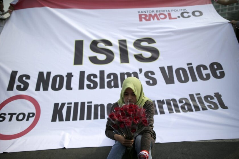 Islamic State protest