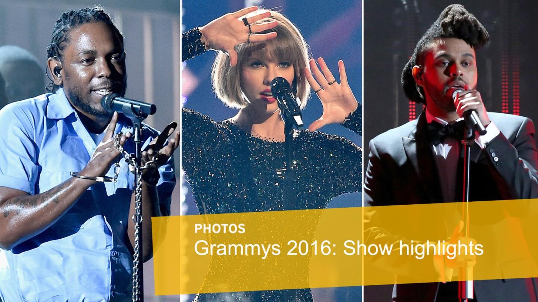 Grammys 2016   Show highlights