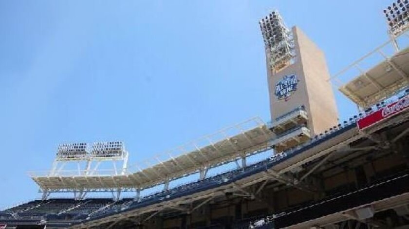 A new LED light system installed at Petco Park is part of an energy efficiency and recycling program the team has put in place that reduced energy usage at the stadium by 40 percent.