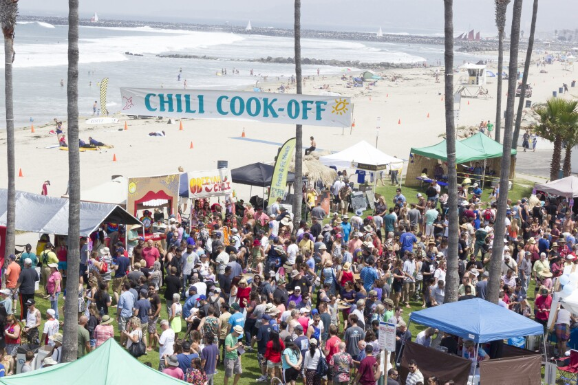 OB Street Fair and Chili Cook Off