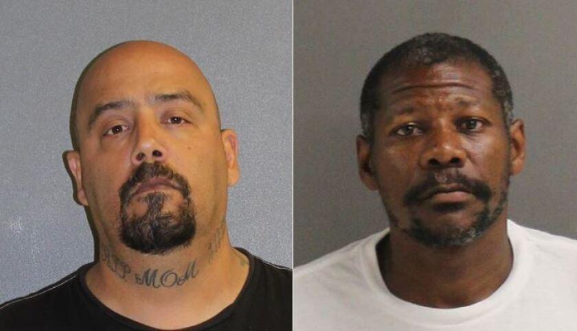 Accused of stealing sandbags