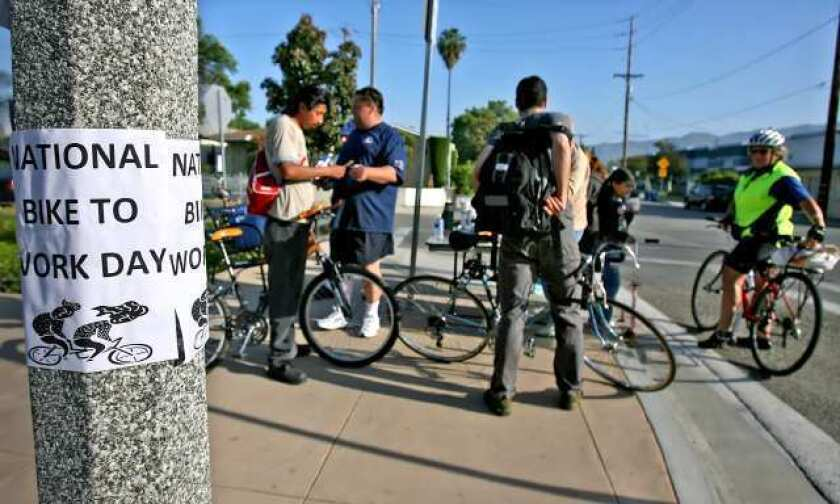 Burbank rolls out free classes to encourage more cycling