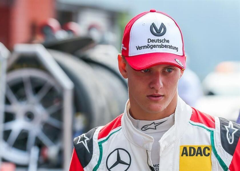 Mick Schumacher, the 18-year-old son of seven-time Formula One World Champion Michael Schumacher. EFE/EPA/FILE/POOL
