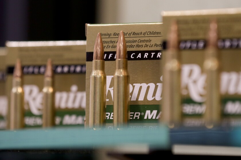 Remington, the gunmaker beset by falling sales and lawsuits tied to the Sandy Hook Elementary School massacre, said Monday, Feb. 12, 2018, that it has reached a financing deal that would allow it to continue operating as it files for Chapter 11 bankruptcy protection.
